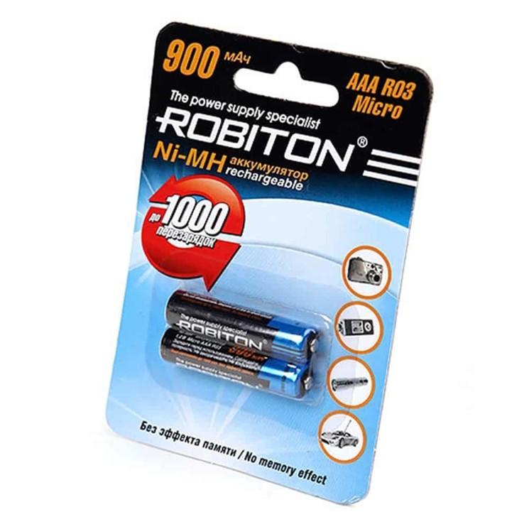 ROBITON R03 900MAH NI-MH BL-2