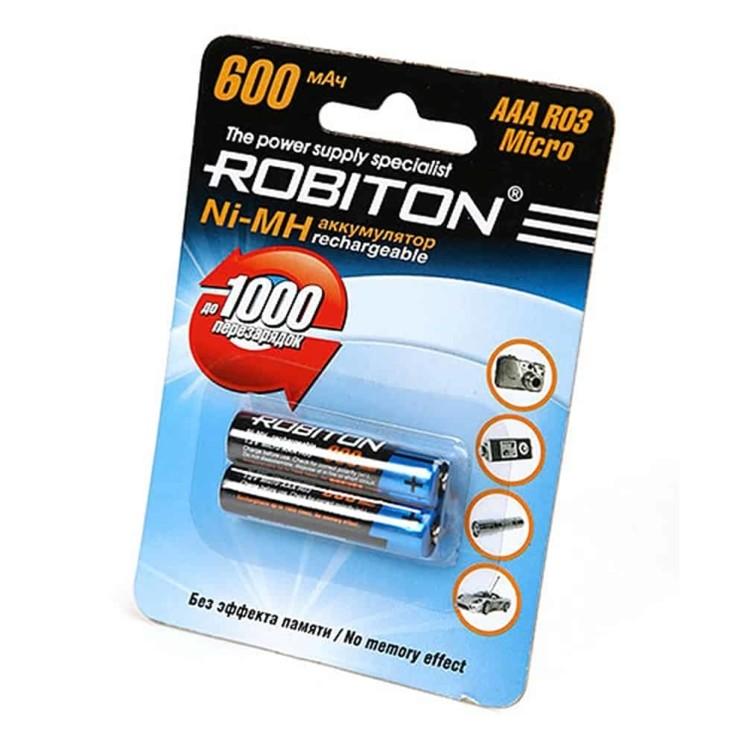 ROBITON R03 600MAH NI-MH BL-2
